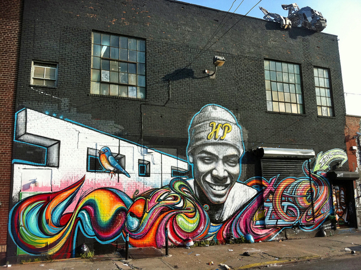 Shawn Bullen mural Bushwick NYC Speaking with Chicago Native Shawn Bullen in NYC