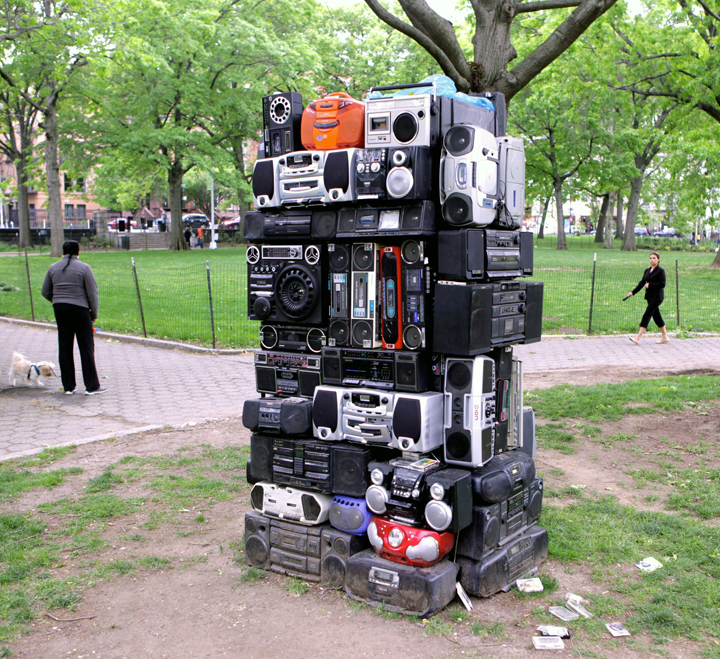 bayette ross smith Boom Box At Marcus Garvey Park in Harlem with: Bayeté Ross Smith, Jordan Baker Caldwell, Jack Howard Potter, Richard Vivenzio, Suprina, Jason Wallace, Capucine Bourcart and Bob Clyatt