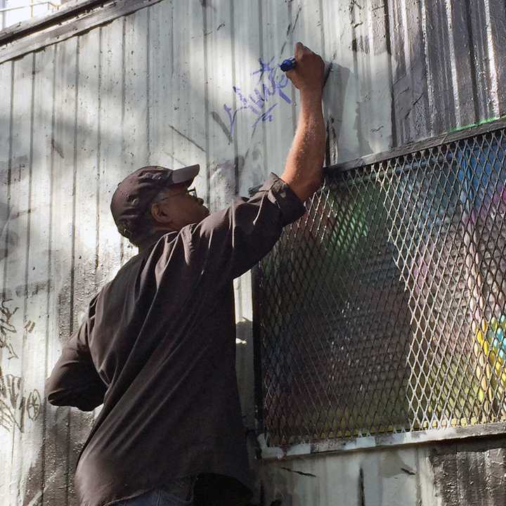 Flip tags graffiti Speaking with Graffiti Pioneer Charles Henry aka Flip One