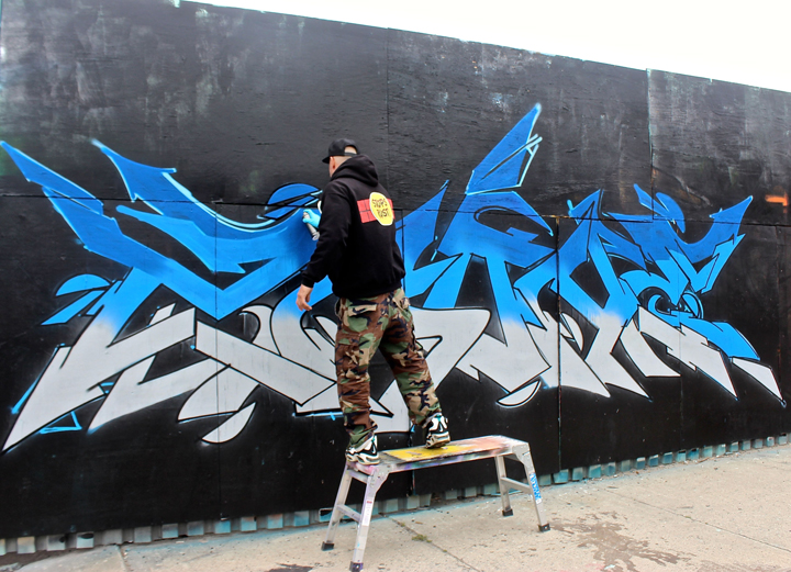 ZA-One-paints-graffiti-NYC