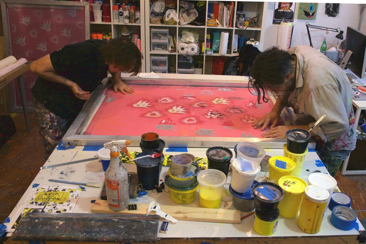 asvp at work in studio NYC Yoav Litvin on <em>2Create</em>: His Ongoing Project and Upcoming Book on Creative Collaborations