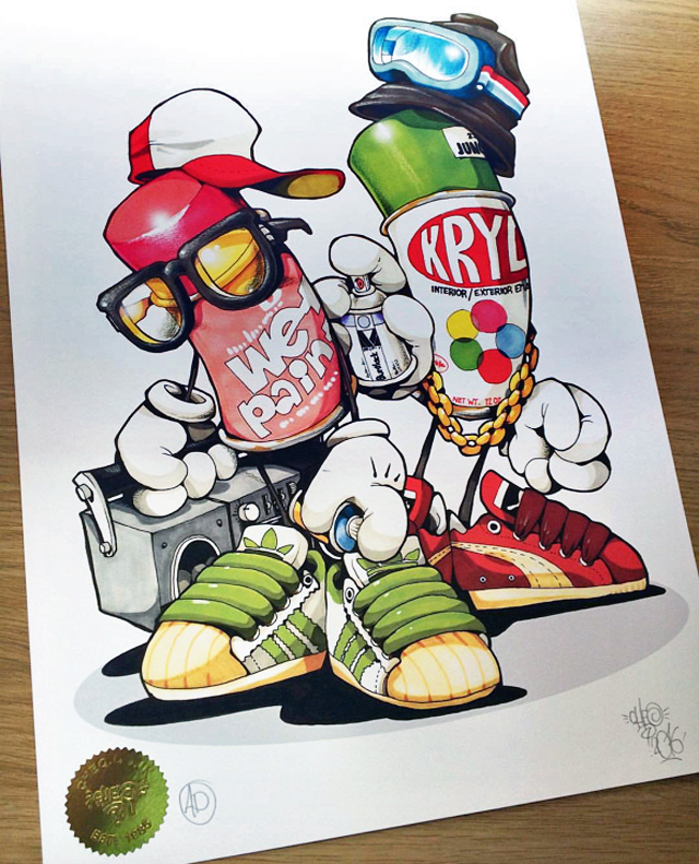 Cheo graffiti art HomeStyle    <em>Cap Matches Colors</em> First International Exhibit    to Open Tomorrow, July 22, at Bristols HANGFIRE Gallery