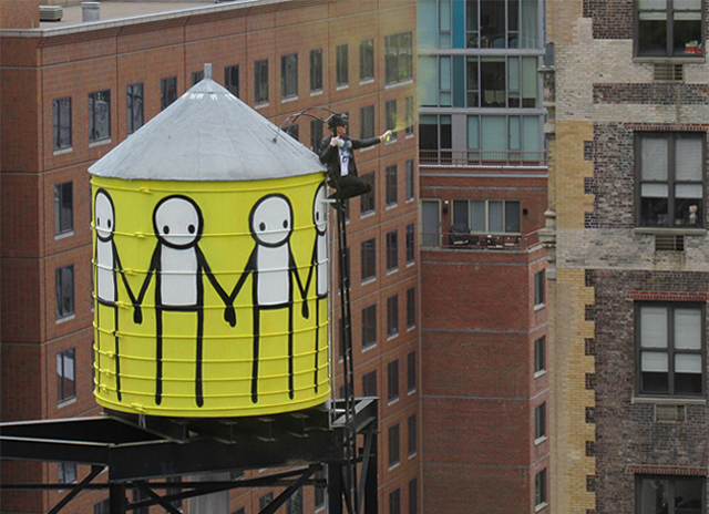 stik street art nyc STIK Book Signing at Strand Book Store Tomorrow, July 21, 6 8pm
