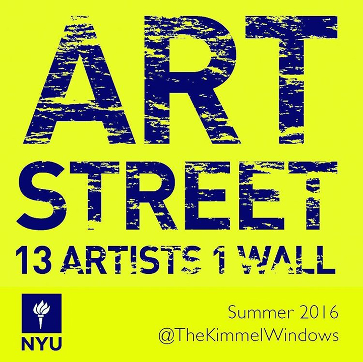 Street Art and Graffiti at NYU\'s Kimmel Windows Gallery