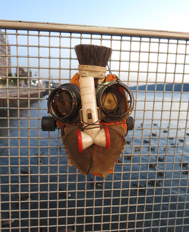 Michael-Cuomo-mask-recycled-art-Rex