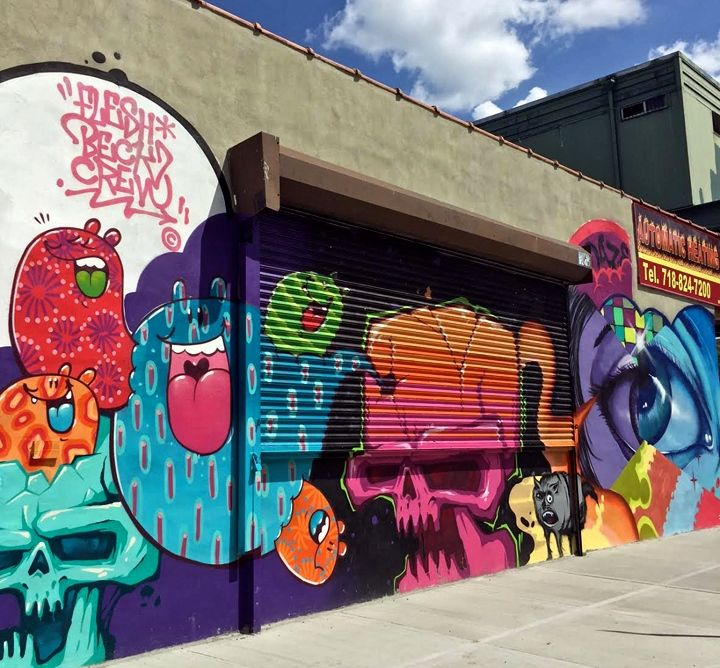 daze-and-fresh-beck-crew-graffiti-mural-art-Bronx-NYC