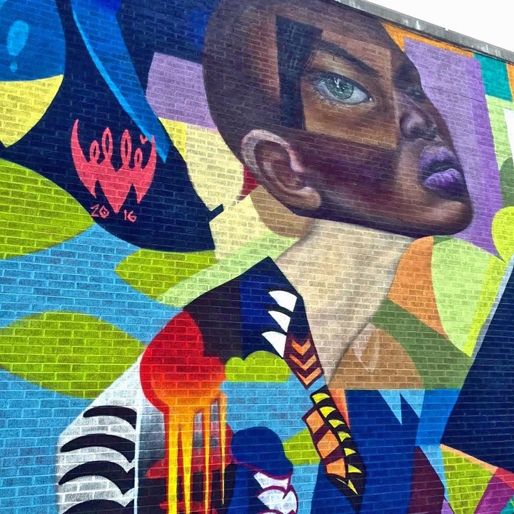 elle street art harlem #NotACrime Street Art Campaign for Education Equality Brings Mural Art to Harlem: Astro, Cekis, Ricky Lee Gordon, Rone, Alexandre Keto, Franco, Patch Whisky, Elle and more