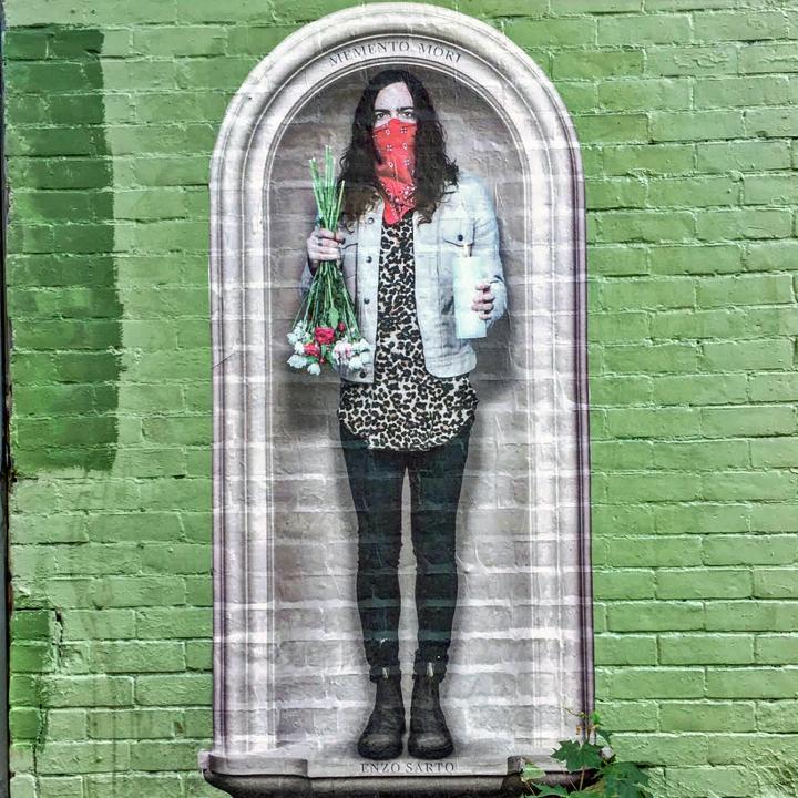 enzo sarto street art  Street Art NYC in Montreal, Part III: Enzo Sarto, Wax Head, Mastrocola, Chris Dyer, Shalak & Smoky, Earth Crusher and Zek156