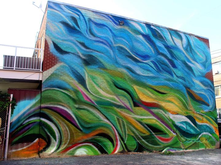 mastrocola mural art Montrea  Street Art NYC in Montreal, Part III: Enzo Sarto, Wax Head, Mastrocola, Chris Dyer, Shalak & Smoky, Earth Crusher and Zek156
