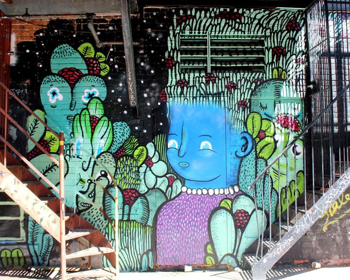 waxhead street art montreal  Street Art NYC in Montreal, Part III: Enzo Sarto, Wax Head, Mastrocola, Chris Dyer, Shalak & Smoky, Earth Crusher and Zek156