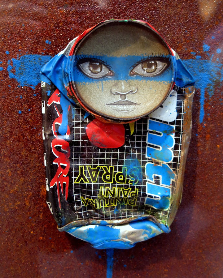 My Dog Sighs Sculpture Scope My Dog Sighs on: the Lure of the Streets, Free Art Friday, His Upcoming Exhibit With the London Ibiza Collective in NYC and more