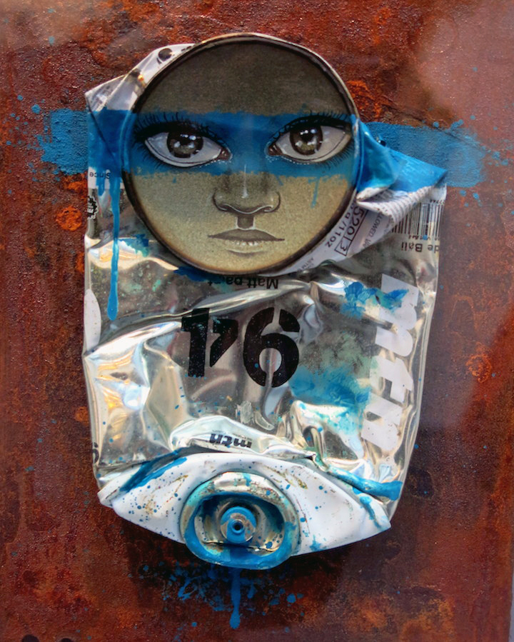 My Dog Sighs art Scope My Dog Sighs on: the Lure of the Streets, Free Art Friday, His Upcoming Exhibit With the London Ibiza Collective in NYC and more