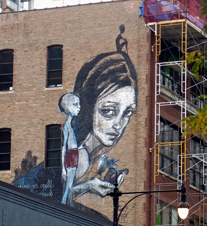 street art murals in chicago s wabash arts corridor with