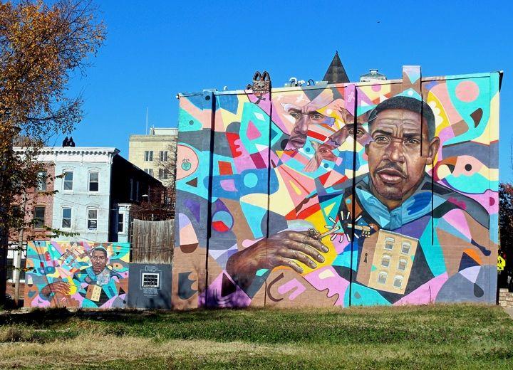 Daniel Cortez Decertor street art Baltimore In Baltimore: Gaia & Pablo Machioli, Decertor, Ernest Shaw, Jessie & Katey, LNY, Betsy Casanas, Nanook, Billy Mode and Michael Owen