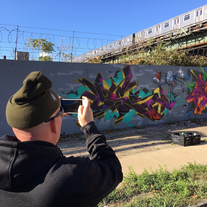 ces graffiti nyc Speaking With Travel and Street Photographer Karin du Maire