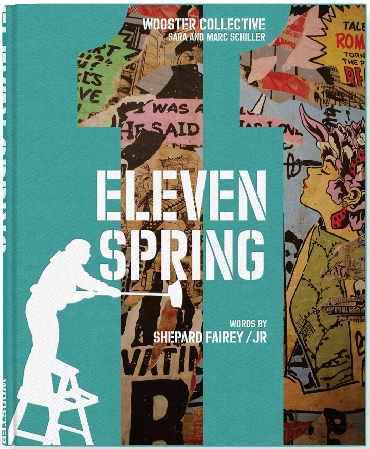 eleven spring book cover ELBOW TOE on Eleven Spring, Wooster Collective, Street Art and more