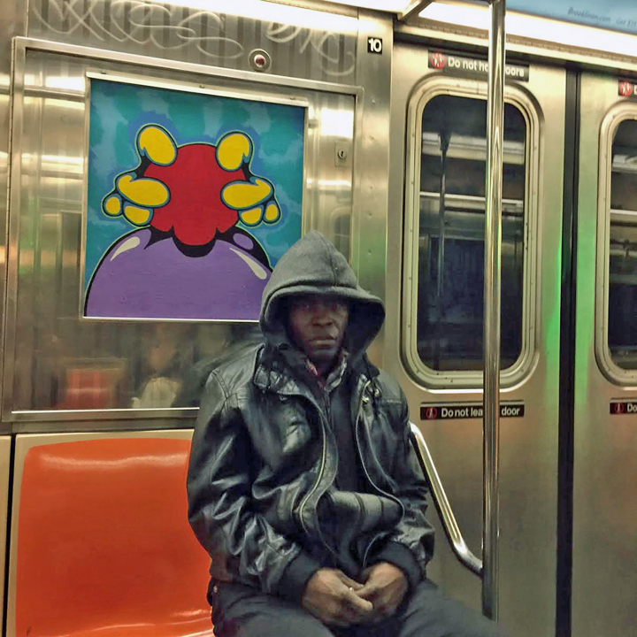 nic kilroy Riding the NYC Subway Trains With Classic Graffiti Writers: Rocky 184, Kerz, Lava, Taki 183, Easy, Slave FAB 5, Ree, Nic 707 and Quik