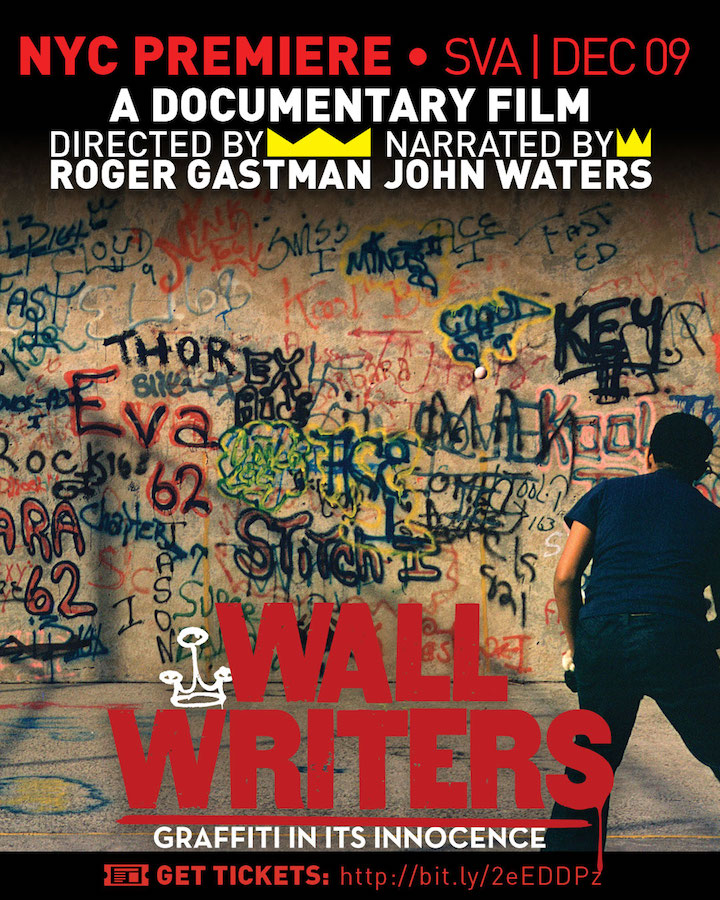 SVA invite handball Roger Gastman on <em>Wall Writers: Graffiti in Its Innocence</em> and Its December 9th NYC Premiere  at SVA