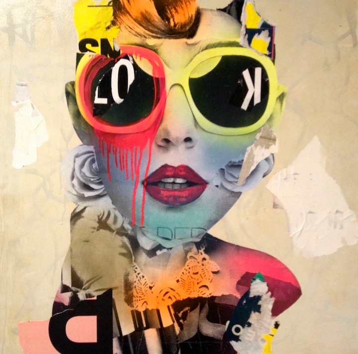 dain portrait 720 1 DAIN Solo Exhibit Continues at <em>Fat Free Art</em> on the Lower East Side