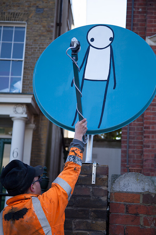 stik street art London1 London Based Stik on: <em>Magpie</em>, the Sale of Street Art Pieces, the Upcoming Phillips Auction and Fundraising for the Community