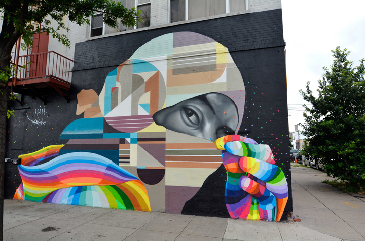 Dasic Fernandez and Rubin415 street art Yoav Litvin on <em>2Create: Art Collaborations in New York City</em>