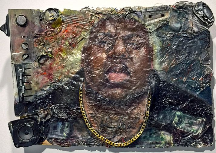 Yishai Minkin Biggie <em>Hip Hop Utopia: Culture + Community</em> at Jerseys Citys Dineen Hull Gallery Through February 21