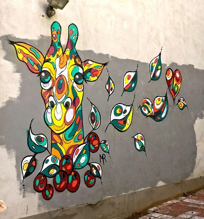 Michal Rubin Tel Aviv street art Tel Aviv Street Art: Klone, Foma, Dede, Adi Sened, Michal Rubin, Mr di Maggio, Jonathan Kis Lev, Ros Plazma, Signor Gi and Murielle