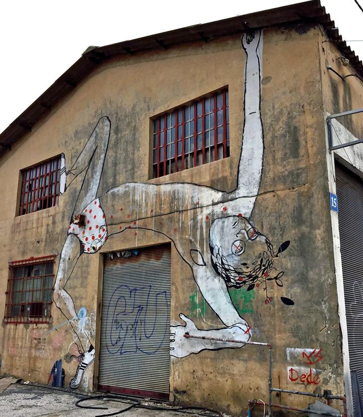 dede bandaid tel aviv street art Tel Aviv Street Art: Klone, Foma, Dede, Adi Sened, Michal Rubin, Mr di Maggio, Jonathan Kis Lev, Ros Plazma, Signor Gi and Murielle