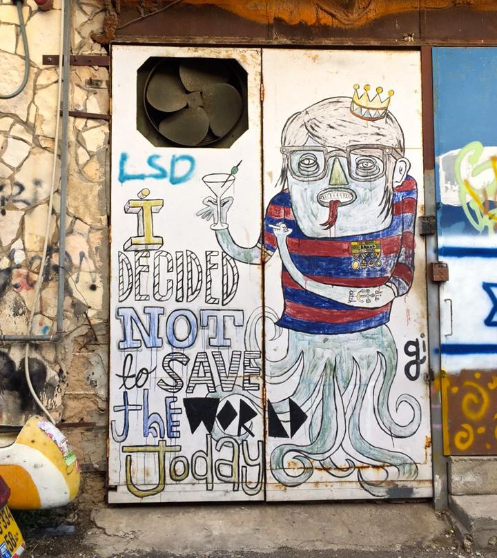 signor G street art tel aviv Tel Aviv Street Art: Klone, Foma, Dede, Adi Sened, Michal Rubin, Mr di Maggio, Jonathan Kis Lev, Ros Plazma, Signor Gi and Murielle