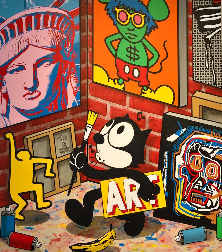 speedy graphito FAAM FAAM Presents Major Street Art Auction: Faile, Iena Cruz, Tracy 168, Luis Berros, Abstrk, Speedy Graphito, Banksy & more