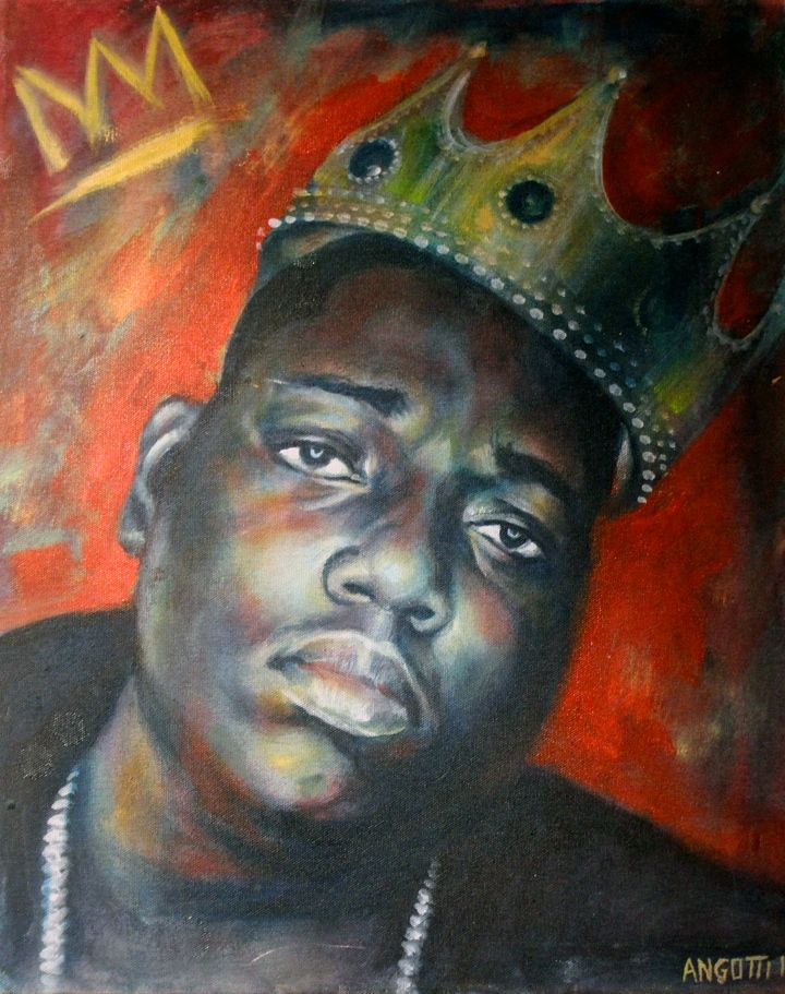 Ben Angotti Biggie Spread Art NYC Presents <em>20 Big Years</em>    an Artistic Tribute to Biggie Smalls    at the Bishop Gallery through Tomorrow