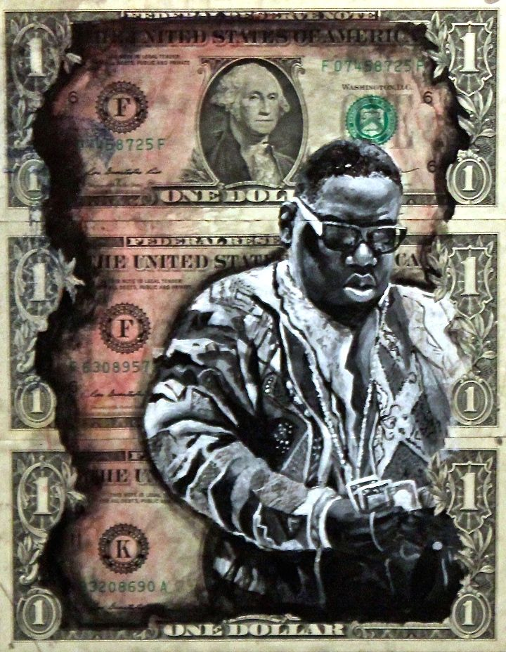 Danielle dejesus biggie Spread Art NYC Presents <em>20 Big Years</em>    an Artistic Tribute to Biggie Smalls    at the Bishop Gallery through Tomorrow