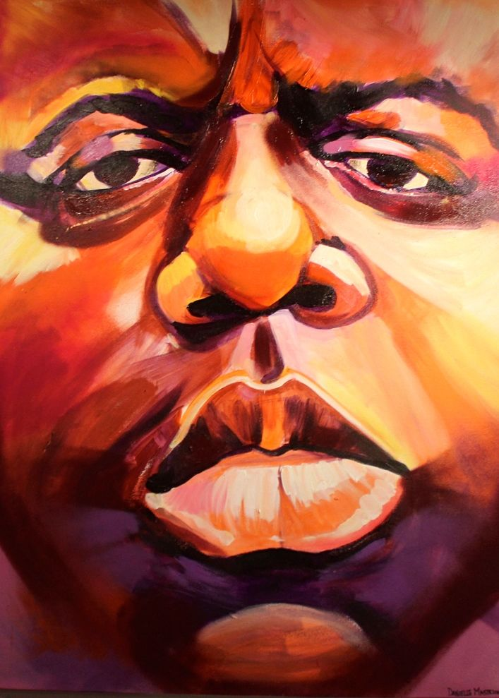 danielle mastrion biggie Spread Art NYC Presents <em>20 Big Years</em>    an Artistic Tribute to Biggie Smalls    at the Bishop Gallery through Tomorrow