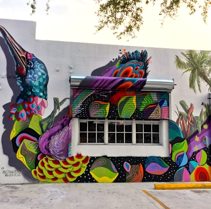 ernesto maranje street art little haiti In Little Haiti, Miami: 2Alas with Case Maclaim, Caratoes, Axel Void, Marcus Blake, Luis Valle, Nate Dee and Ernesto Maranje