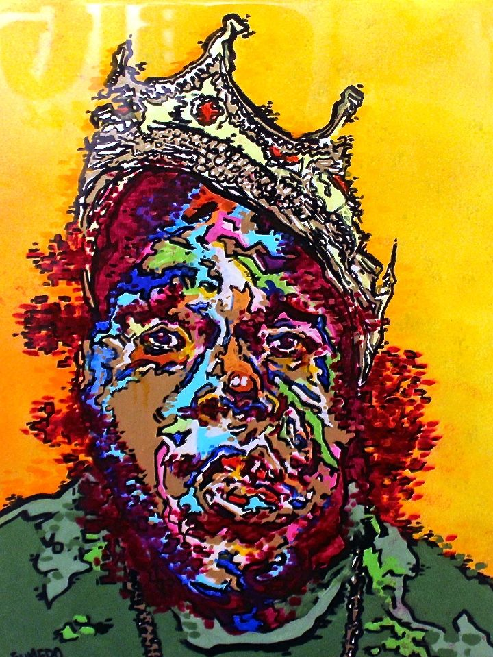fumero painting Biggie Spread Art NYC Presents <em>20 Big Years</em>    an Artistic Tribute to Biggie Smalls    at the Bishop Gallery through Tomorrow
