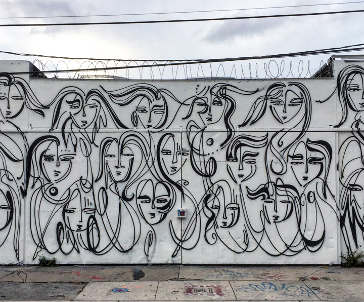 jordan betton street art wynwood Faces in Wynwood Open Spaces, Part III: Miles Toland, Paola Delfin, Dodo, Cero, Jordan Betten, Juega Siempre & Eduardo Mendieta