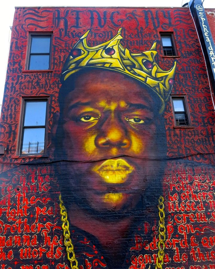 rocko and zimer street art NYC Spread Art NYC Presents <em>20 Big Years</em>    an Artistic Tribute to Biggie Smalls    at the Bishop Gallery through Tomorrow