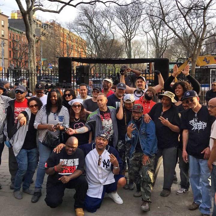 Hip Hop International Day artists Celebrating <em>International Hip Hop Day</em> at First Street Green Park: T Kid, Jerms, Doves, Lady K Fever, Andres Correa, Kool Kito, Marcelo Ment, La Femme Cheri, Ree, Resa Piece and more