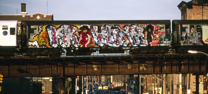 Louie-KR.ONE-Gasparro-subway-graffiti-Martha-Cooper