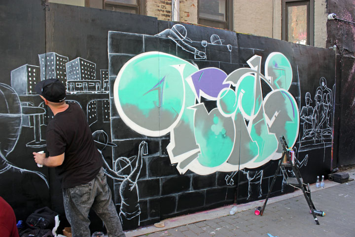 andres correa street art first green park nyc Celebrating <em>International Hip Hop Day</em> at First Street Green Park: T Kid, Jerms, Doves, Lady K Fever, Andres Correa, Kool Kito, Marcelo Ment, La Femme Cheri, Ree, Resa Piece and more