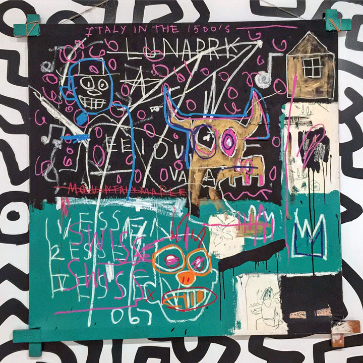 basquiat <em>Fast Forward: Painting from the 1980s</em> at the Whitney Through May 14: Jean Michel Basquiat, Keith Haring, Martin Wong, Kenny Scharf &amp; more