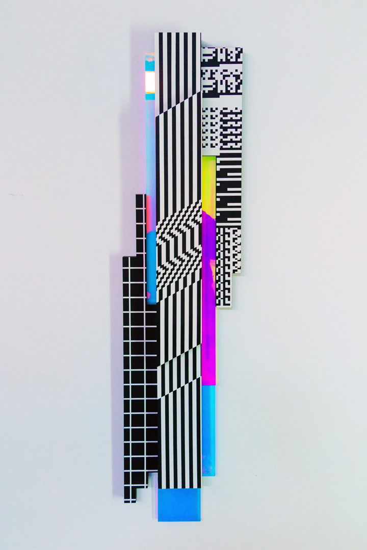 pantone scroll Felipe Pantone at GR Gallery on the Bowery and on the Streets of Greenpoint, Brooklyn and more