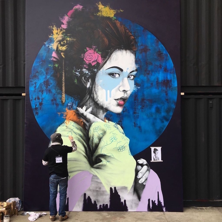 Findac street art amsterdam Street Art Today Presents Third Edition of the Kings Spray Street Art Festival: Fin DAC, Ces53, Sipros, Mr June, Bosmaus, Sokar Uno, Fanakapan, Besok & more