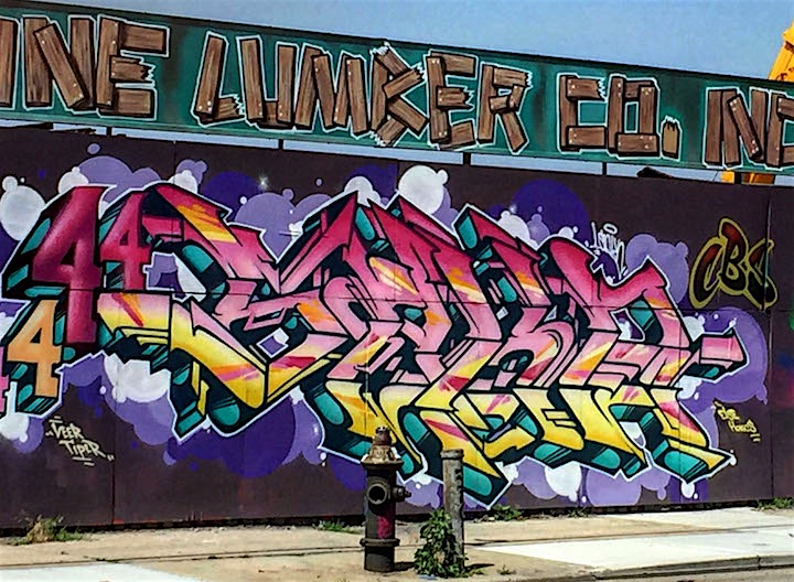 4 saken graffiti nyc New at Brooklyn Reclaimed: Meres, T Kid 170, Rath, Pase, VIP Rap, Sloke and 4Sakn