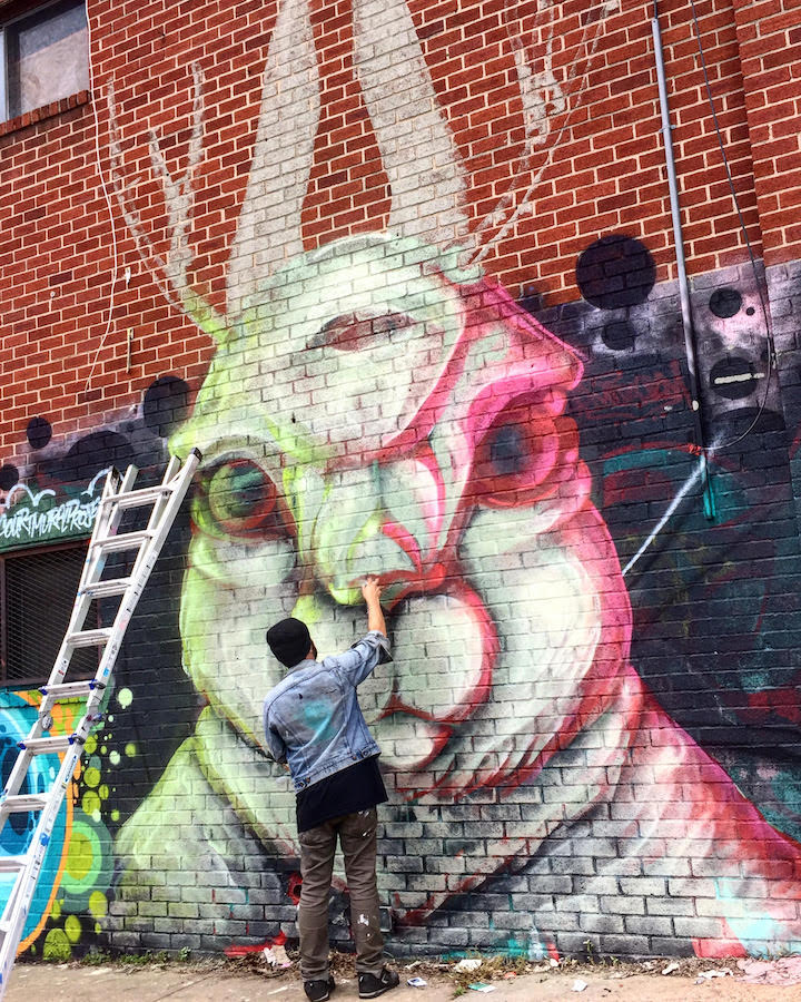 bluze The 8th Annual Welling Court Mural Project Readies to Launch with See One, Queen Andrea, SP One, Bluze, Sinned, Onel with Roberto Castillo, ASVP & Dozens More