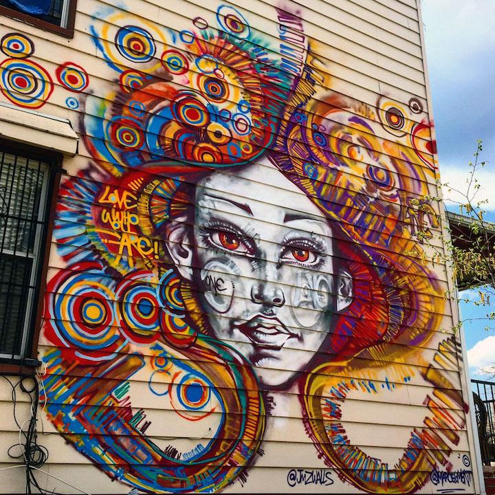 marcelo ment bushwick street art nyc Speaking with Rio de Janeiro Based Artist Marcelo Ment