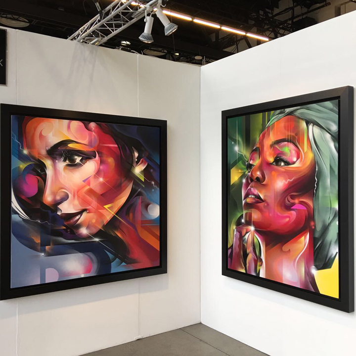 mr cenz  Urban Art Fair Launches at Spring Studios with Noe Two, Mr Cenz, Hopare, Logan Hicks, Dain, Prefab77, Dan Witz & more