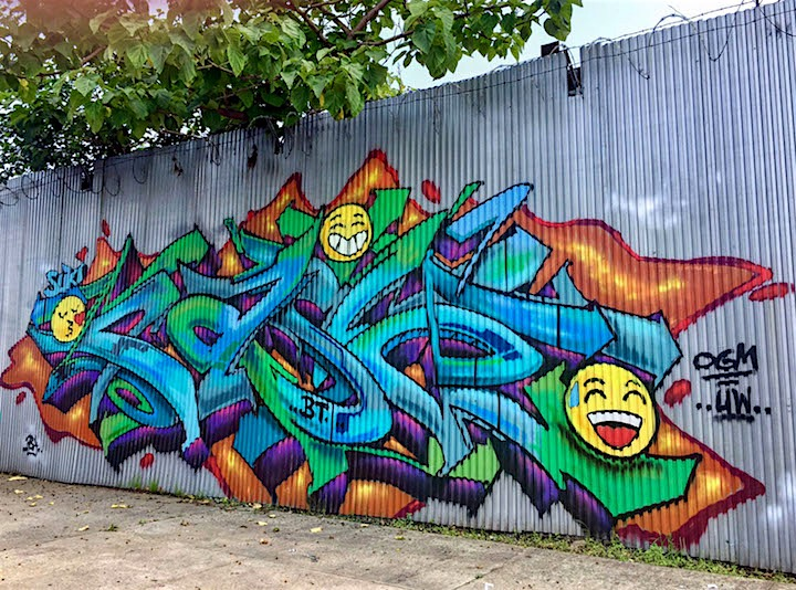 pase bt graffiti nyc New at Brooklyn Reclaimed: Meres, T Kid 170, Rath, Pase, VIP Rap, Sloke and 4Sakn