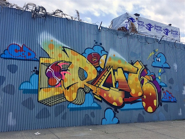 rath graffiti nyc New at Brooklyn Reclaimed: Meres, T Kid 170, Rath, Pase, VIP Rap, Sloke and 4Sakn
