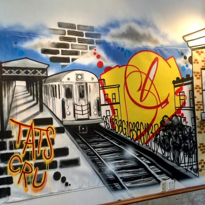 BG183 Tats Cru from the streets From the Streets: An Exhibition of Urban Art Continues through July 15 at ArtsWestchester with Tkid, Wane, Daze, Carlos Mare, BG 183, Damon, Dasic, Li Hill & more